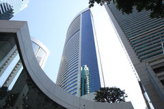 Gratte-ciel bleu 2943 Images libres de droits
