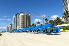 Gratte-ciel chez Sunny Isles Beach Images stock