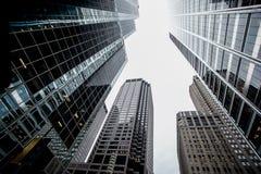 Gratte-ciel Chicago contre le ciel Photos libres de droits