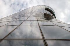 Gratte-ciel Construction à plusiers étages Photographie stock libre de droits