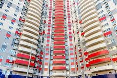 Gratte-ciel d'appartements Photographie stock libre de droits
