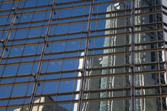 Gratte-ciel d'horizon de Hong Kong Central Financial Centre Images libres de droits