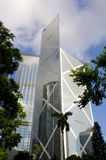 Gratte-ciel d'horizon de la Banque de Chine BOC Hong Kong Central Financial Centre Photo stock