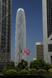 Gratte-ciel d'IFC 2 en île de Hong Kong image libre de droits