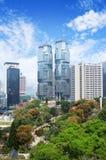 Gratte-ciel dans Hong Kong Photo libre de droits