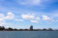 Gratte-ciel dans pattay Image stock
