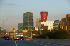 Gratte-ciel de Barcelone image libre de droits