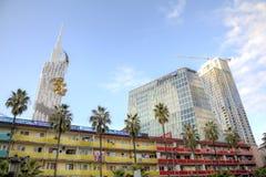 Gratte-ciel de Batumi image stock