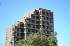 Gratte-ciel de brique Image libre de droits