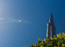 Gratte-ciel de Burj Khalifa  Image libre de droits