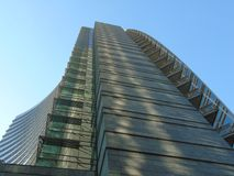Gratte-ciel de centre de Milan Commercial Image libre de droits