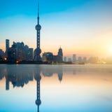 Gratte-ciel de Changhaï Lujiazui CBD Photographie stock