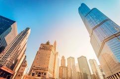 Gratte-ciel de Chicago Photos libres de droits