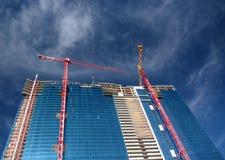 Gratte-ciel de construction Images libres de droits