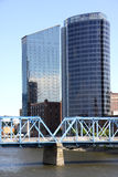 Gratte-ciel de Grand Rapids Photo stock