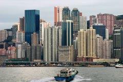 Gratte-ciel de Hong Kong Photographie stock libre de droits
