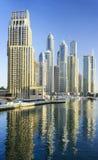 Gratte-ciel de marina de Dubaï Photo libre de droits