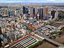 Gratte-ciel de Melbourne Photos stock
