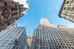 Gratte-ciel de New York à Manhattan photo stock