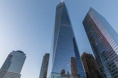 Gratte-ciel de New York à Manhattan photos stock
