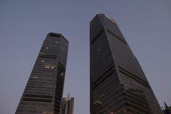 Gratte-ciel de place financière du monde de Changhaï Image stock