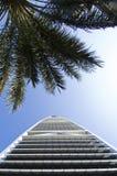 Gratte-ciel de points de repère et bâtiments de capital de ville de Riyadh de SA photo libre de droits