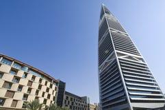 Gratte-ciel de points de repère et bâtiments de capital de ville de Riyadh de SA photographie stock