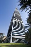 Gratte-ciel de points de repère et bâtiments de capital de ville de Riyadh de SA images stock