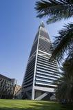 Gratte-ciel de points de repère et bâtiments de capital de ville de Riyadh de SA photographie stock libre de droits