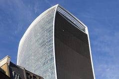 Gratte-ciel de rue de 20 Fenchurch (bâtiment de talkie-walkie) Images stock
