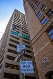 Gratte-ciel de San Francisco, vue de rue Photographie stock