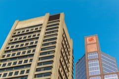 Gratte-ciel de Scotia à Montréal du centre, Canada image libre de droits