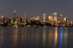 Gratte-ciel de Sydney Photos libres de droits