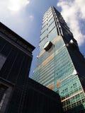 Gratte-ciel de Taïpeh 101 Image libre de droits
