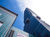 Gratte-ciel de Taïpeh 101, Taïwan Images libres de droits