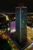 Gratte-ciel de tour d'Oxford à Varsovie, Pologne Photo stock