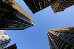Gratte-ciel de ville Photo libre de droits