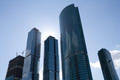 Gratte-ciel de ville de Moscou photographie stock libre de droits