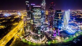 Gratte-ciel de ville de Moscou Photographie stock