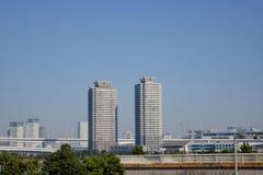 Gratte-ciel de ville de Tokyo Image stock
