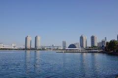 Gratte-ciel de ville de Tokyo Image libre de droits