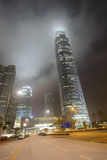 Gratte-ciel du centre de Hong Kong Images libres de droits