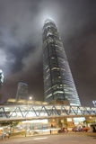 Gratte-ciel du centre de Hong Kong Image libre de droits