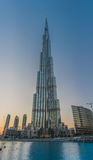 Gratte-ciel Dubaï de Burj Khalifa Photo libre de droits