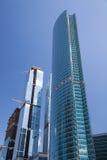 Gratte-ciel en construction Images libres de droits