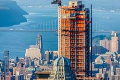 Gratte-ciel en construction, côté Ouest supérieur, Manhattan, NYC photo stock
