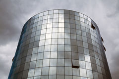 Gratte-ciel en verre Photo stock