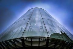 Gratte-ciel en verre de Londres Photographie stock