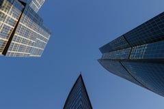 Gratte-ciel, gratte-ciel Photographie stock libre de droits
