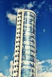 Gratte-ciel Les affaires, bureau, ville moderne, architecture, bâtiment, message publicitaire, extérieur, verre, urbain, copient  Image stock